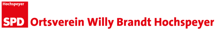 "SPD Ortsverein ""Willy Brandt"" Hochspeyer"